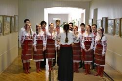 Виставка художніх картин «Натхненні творчістю Кобзаря», присвячена 200-річчю від дня народження Т.Г. Шевченка